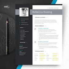 Modern Engineer Resume Software Engineer Resume Template With Photo And Cover