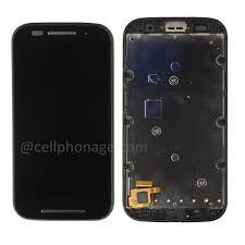 motorola touch screen phones. black motorola moto e xt1021 xt1022 xt1025 lcd frame touch screen phones 2