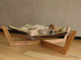 contemporary wood dog bed furniture unique type of luxury pet plan frame diy with stair idea canada image