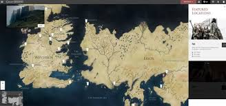 the ultimate \u201cgame of thrones\u201d viewer's guide explains all the Map Of Game Of Thrones World Pdf features an interactive map map of game of thrones world 2016