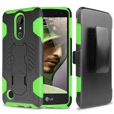 LG K20 Plus Case, V Harmony Dual Layer Hybrid Shock Absorbing