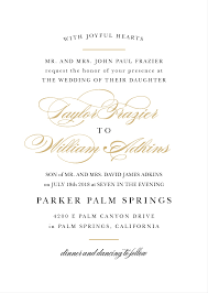 Sample Of Weeding Invitation Wedding Invitation Wording Samples