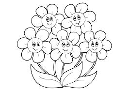 Kleurplaten Bloemen Printen Brekelmansadviesgroep