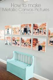Make Photos Into Canvas Wall Art Marvelous How To Metallic Pictures 7