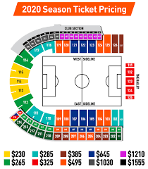 Seating Map Fc Cincinnati