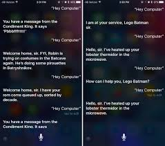 Siri Quote Extraordinary Apple's Siri Promotes The LEGO Batman Movie When You Say 'Hey