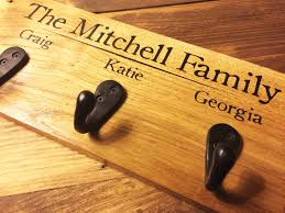 Personalized Family Coat Rack Personalised Family Coat Rack Old And Kwerky 14