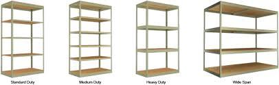 types of shelves. Contemporary Shelves Teilhaber Manufacturing Corporation  Boltless Shelving Types For Of Shelves L