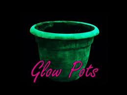 rust oleum glow in the dark paint flower pots. diy: glow in the dark planter pots rust oleum paint flower -