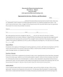 Sample Bid Proposal Template Ning Service Agreement Template Contract Proposal Sample