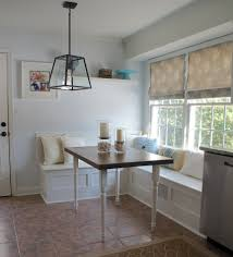 Kitchen Nook Modern Breakfast Nook Breakfast Nook Table Pid Amish Pedestal