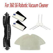 HEPA Filter Mop Cloth for QIHU <b>360 S6 Robotic</b> Vacuum Cleaner ...