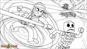 Small Picture LEGO Ninjago Cole Fighting Skeletons Coloring Page Printable