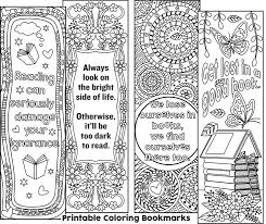 Small Picture 86 best Bookmarks Coloring Pages for Adults images on Pinterest