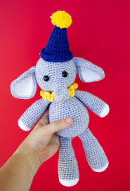 Crochet Stuffed Elephant Pattern Magnificent Decoration