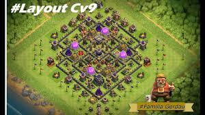 Layout Cv9 Th9 Farm Com A Nova Atualiza Ao Torre De Bombas