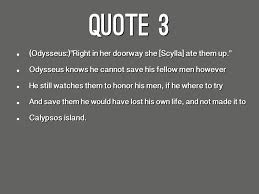 The Odyssey Famous Quotes