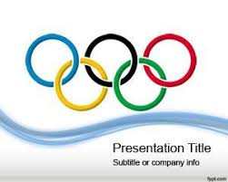 Olympic Games Powerpoint Template Free Ppt Template