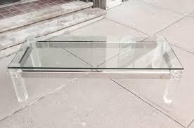 Acrylic Glass Coffee Table Photo Of Plexiglass Coffee Table With Coffee Table Rectangular