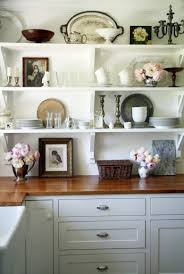 Open Kitchen Shelf Kitchen Attractive And Fabulous Open Kitchen Shelving Open