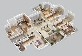 bedroom apartmenthouse plans inspirations modern house design