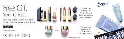 receive a free 7 pc gift with your 35 estée lauder purchase