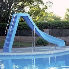 inflatable inground pool slide. Wild Ride Inground Pool Slide Inflatable