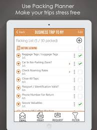 Packing List Checklist Travel App Price Drops
