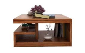 naoshi wood center coffee table for