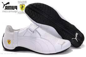 puma white shoes. boys ferrari trionfo shoes puma snowy-white - canada store white