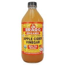 apple cider vinegar. bragg\u0027s organic raw apple cider vinegar global healing center