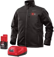 Milwaukee Heated Jacket Light Colors Milwaukee Jacket Kit M12 12v Lithium Ion Heated Front And Back Heat Zones All Sizes And Colors Battery And Charger Included Extra Large Black
