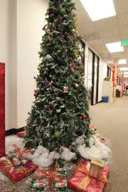 office holiday decor. The Office Holiday Pole Decorating Contest | Mid-century Modern Remodel Decor