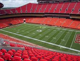 Chiefs Seating Chart With Rows Arrowhead Stadium Section 343 Seat Views Seatgeek