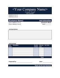 Formato De Cotizacion Para Llenar 11 Plantillas De Presupuestos Estimados Y Fijos Excel Word