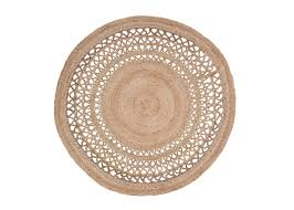 hand woven round rug 6