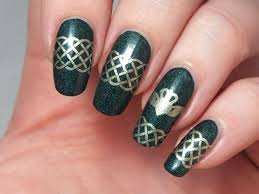 c8cec334b37f7a97dc a802 celtic nails celtic nail art