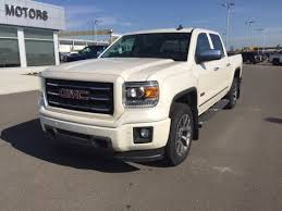 white gmc trucks. Brilliant Gmc White Diamond 2015 GMC Sierra SLT 1500 4WD Crew Cab Truck At Scougall Motors On Gmc Trucks YouTube