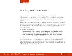 speak softly  10 changethis humility