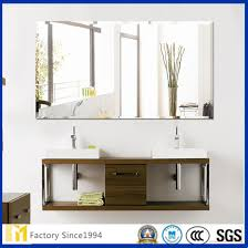 3mm 4mm 5mm 6mm high quality dressing table silver or aluminum mirror with polished edge