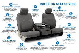 comparecoverking cordura ballistic custom seat covers