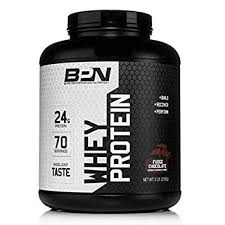 bare performance nutrition whey protein powder 25g of protein excellent taste low
