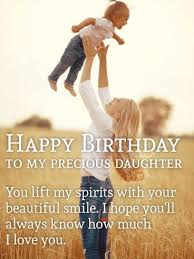 Beautiful Quotes For Daughters Birthday Best of Happy Birthday Daughter Images Birthday Quotes For My Little Girl