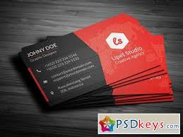 Photoshop Business Card Template Psd Download Purple Business Card