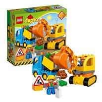 LEGO DUPLO 10882 <b>Конструктор ЛЕГО ДУПЛО Рельсы</b> и стрелки
