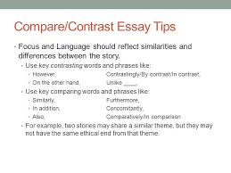 comparative literary analysis ppt  21 compare contrast essay tips