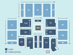 Aberdeen Exhibition Conference Centre Seating Plan
