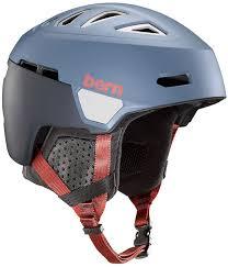 Bern Heist Ski Snowboard Helmet L Matte Denim