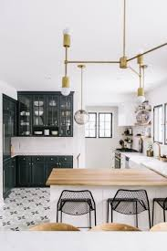 Black White Wood Kitchen Cuisine Noir Et Blanc Bois