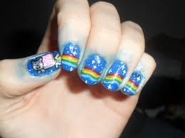 Geek nail art - how you can do it at home. Pictures designs: Geek ...